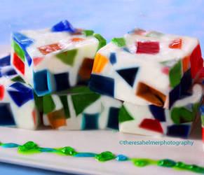 Mosaic Jello by theresahelmer