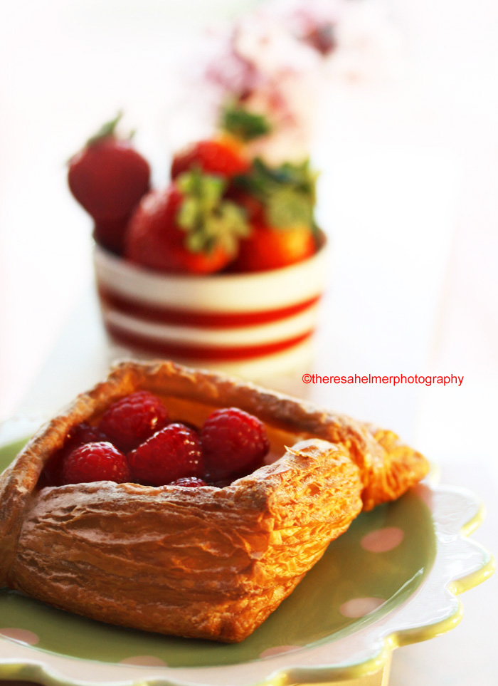 Raspberry Pastry by theresahelmer