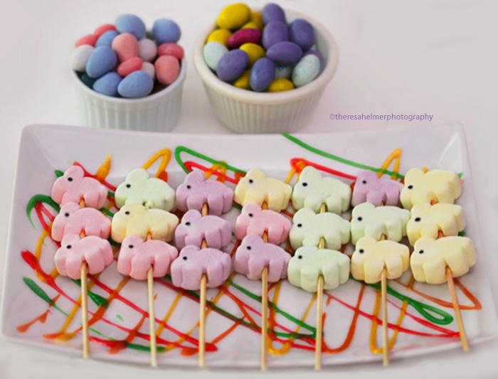Bunny Marshmallow Kabob by theresahelmer