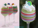 Pastel-Colored Rainbow Jello