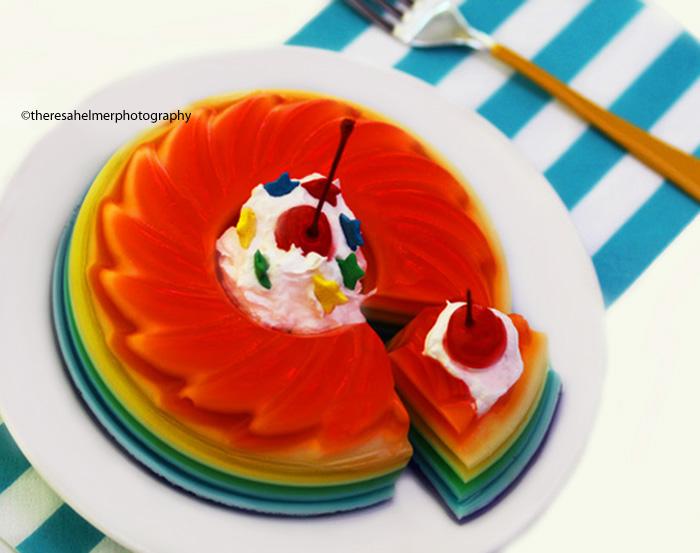 Rainbow Jello II by theresahelmer