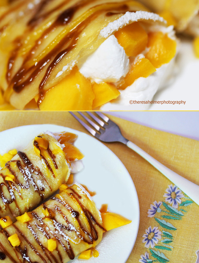 Mango Crepe by theresahelmer