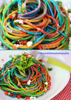 Rainbow Pasta by theresahelmer