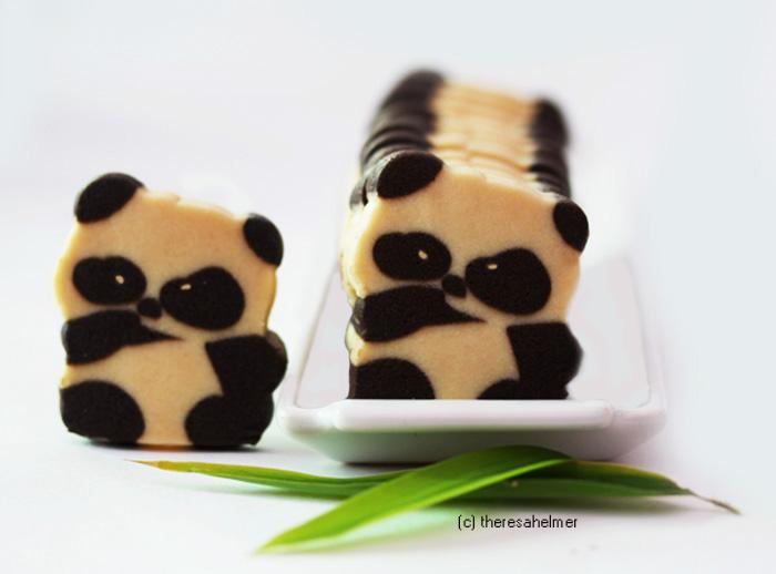 Panda Bear Cookies II by theresahelmer