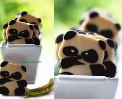 Adorable Panda Cookies
