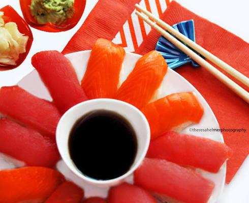 Tuna n Salmon Sushi