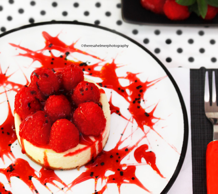 Raspberry Cheesecake by theresahelmer