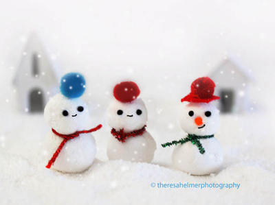 Marshmallow Snow Cuties by theresahelmer