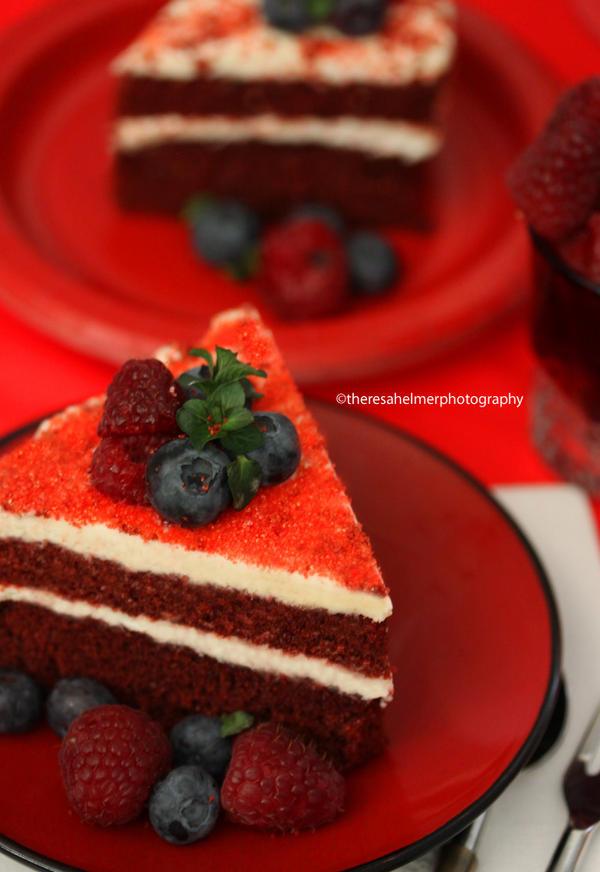 Homemade Red Velvet Cake by theresahelmer