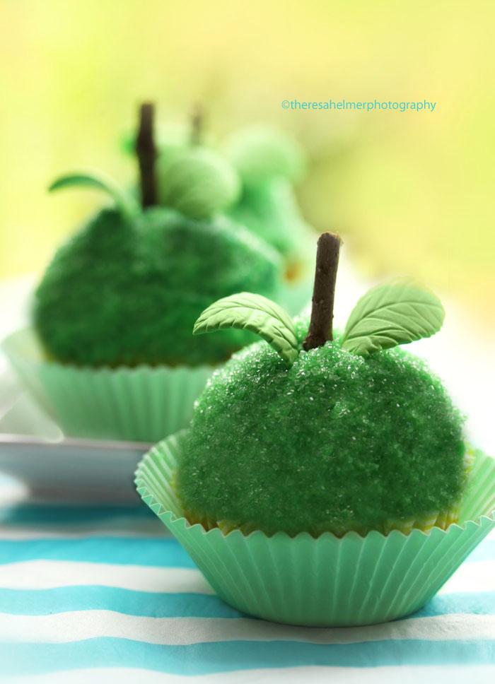 Granny Smith Apple Cupcakes
