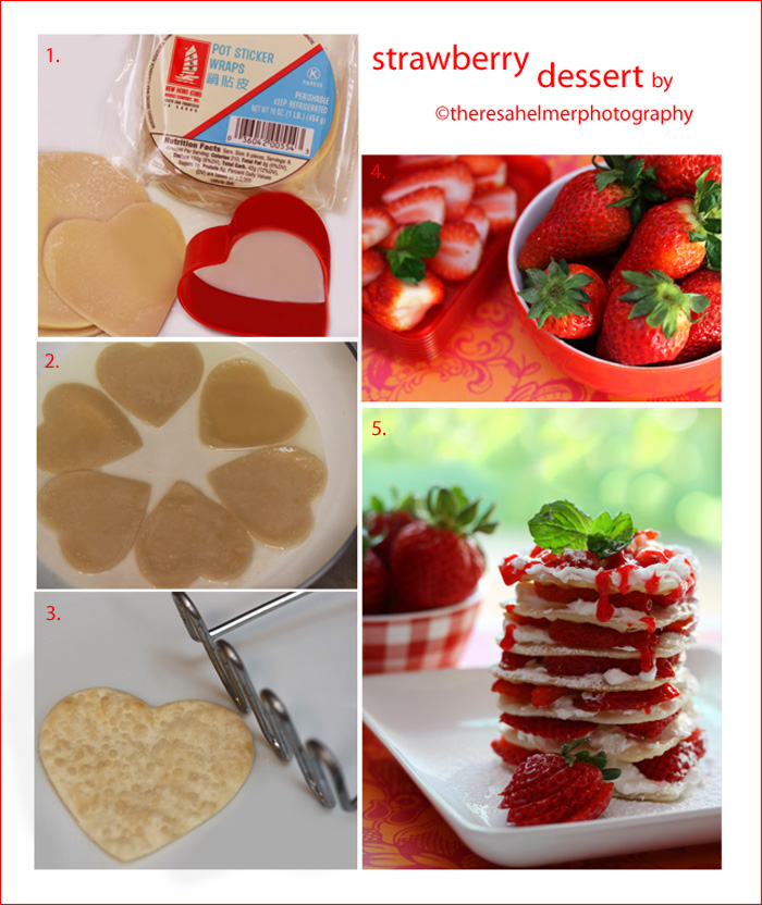 Strawberry Dessert II by theresahelmer