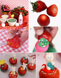 Tutorial for Spring Strawberry Delight