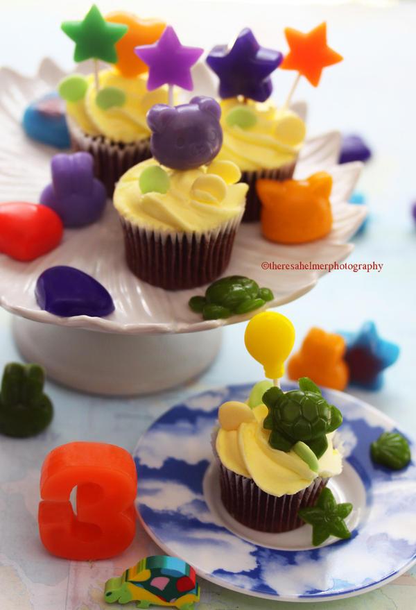 Yep...It's A Party (lemon cupcakes/lemon jello) by theresahelmer