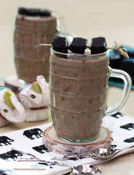 Blew My Mind...Chocolate Fudge Brownie Milkshake