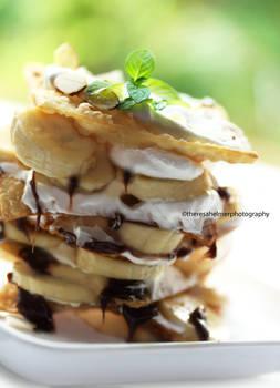 Nutella Banana Dessert
