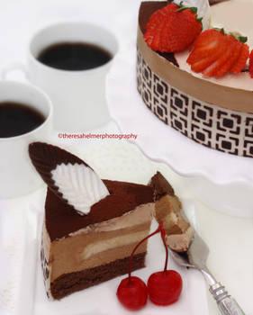 Tiramisu Birthday Cake