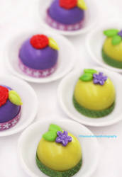 White Chocolate Truffle Candies by theresahelmer