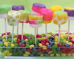Fun n Colorful Marshmallow Pops