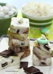 Homemade White Chocolate Mint Fudge