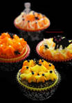 Halloween Cupcakes with Royal Icing