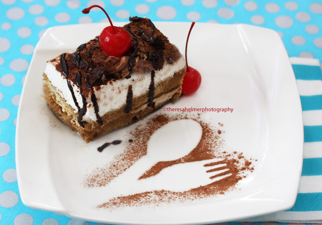 A Slice Of Yummy Tiramisu by theresahelmer