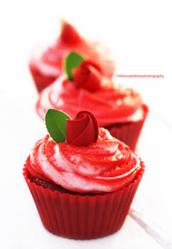 Red Velvet Cupcakes - My Version