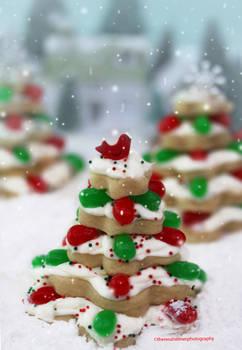 Sugar Cookie Christmas Trees (w/recipe)