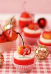 Panna Cotta Rainier Cherry Cups