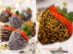 Chocolate-Covered Strawberries, Happy New Year by theresahelmer