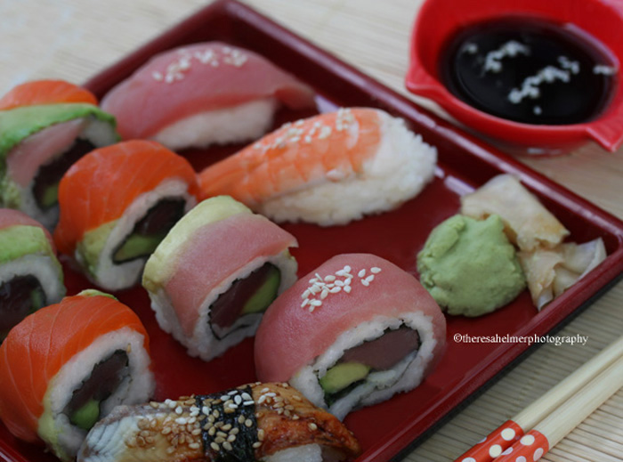 Sushi Combo (homemade) by theresahelmer