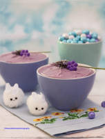 Honey Lavender Infused Mousse by theresahelmer