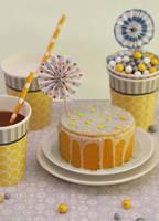 Honey Lemon Cake by theresahelmer