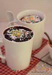2-Minutes Cake in Mugs (in microwave)