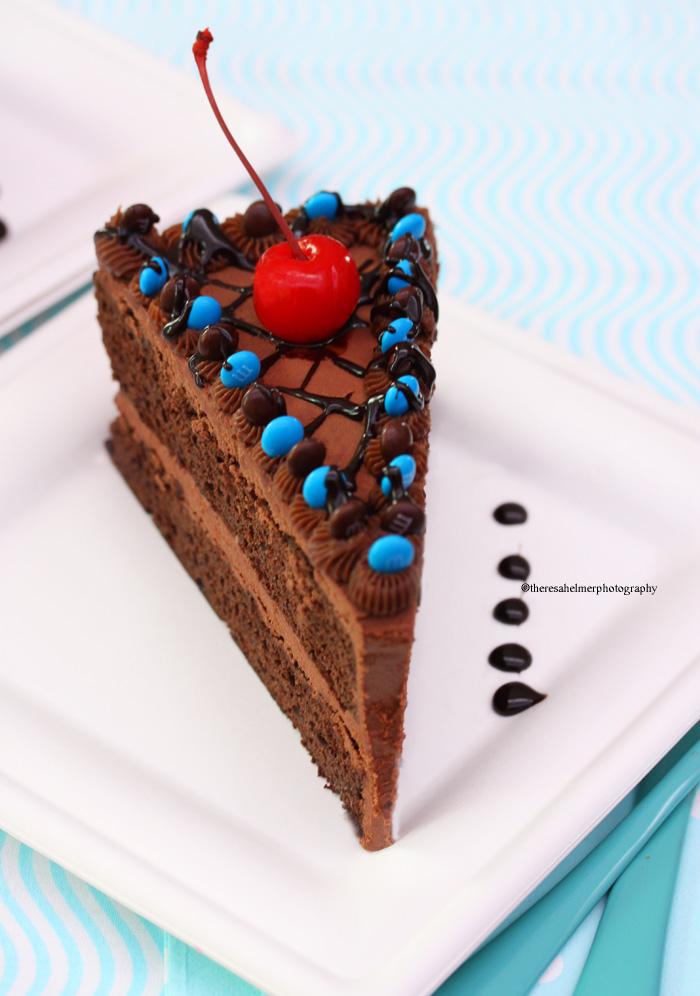 Chocolate Fudge Cake w/ mini MM...Soooooooo Good by theresahelmer