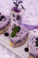 Honey Lemon Lavender Tea Cake (multi photos) by theresahelmer