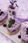 Honey Lemon Lavender Tea Cake (multi photos)
