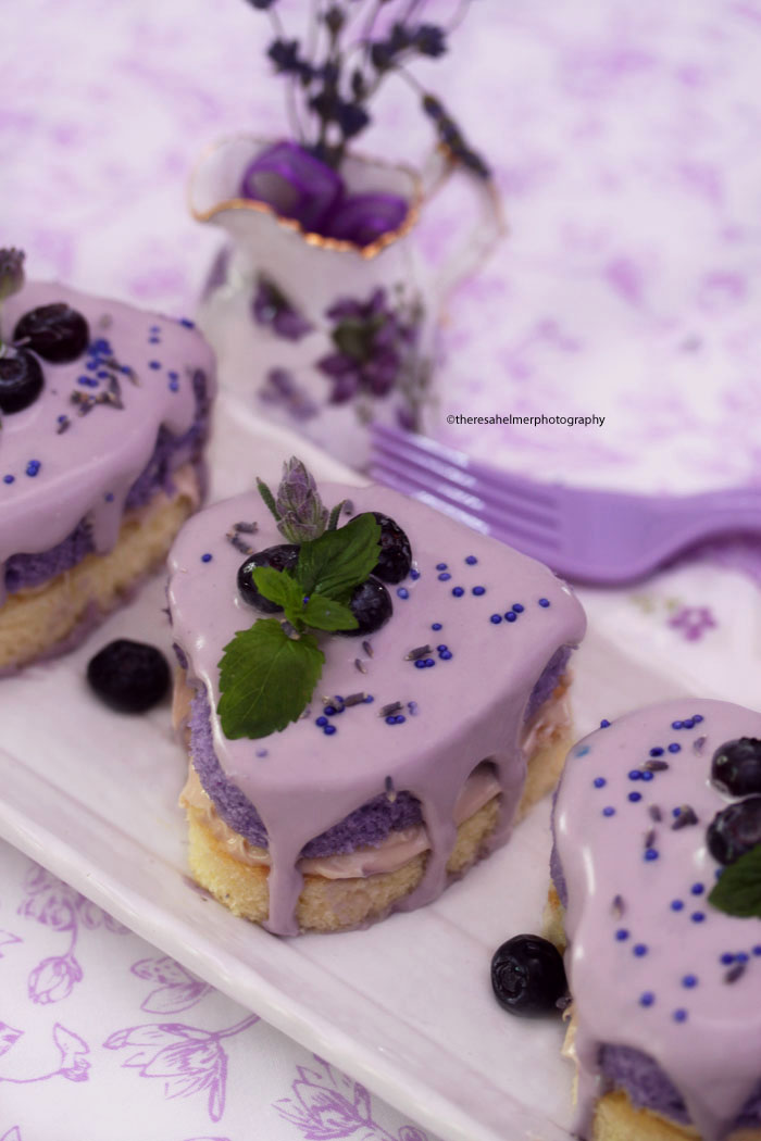 Honey Lemon Lavender Cake