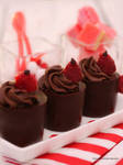 Raspberry Chocolate Cups by theresahelmer