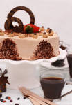 Cappuccino Mousse Cake