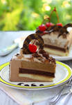 Cake Slices - Cappuccino Mousse Cake
