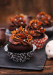Maple Bacon Chocolate Cupcakes