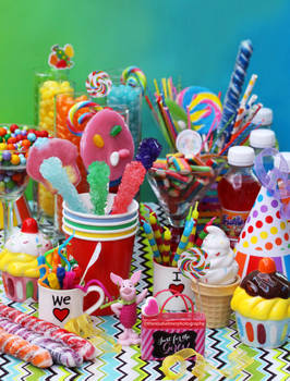 Rainbow Themed Birthday Party