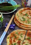 Scallion Pancake or Green Onion Bread