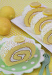Delicious and Refreshing Lemon Cake Roll