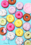 Mini Maple Glazed Applesauce Donuts
