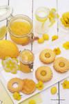 Homemade Lemon Curd w/ Shortbread Cookies