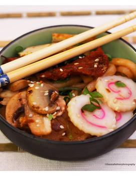 Homemade Japanese Udon