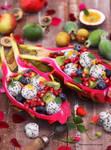 Fruity Goodness - Dragon Fruit Bowl