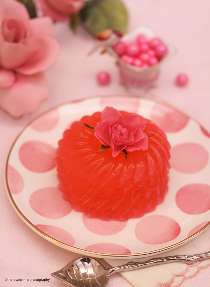 Pink Champagne Jelly by theresahelmer