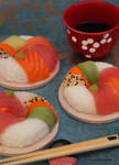 Sushi Donuts by theresahelmer